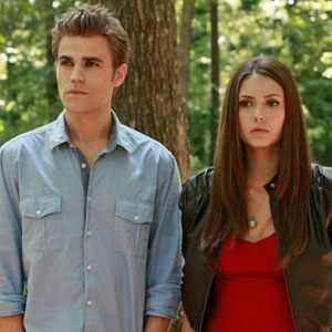 Vampire Diaries, Nina Dobrev, Paul Wesley