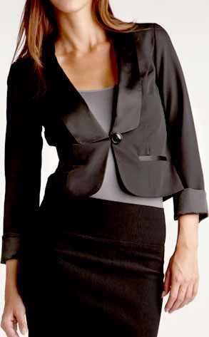 Charlotte Russe Tuxedo Jacket