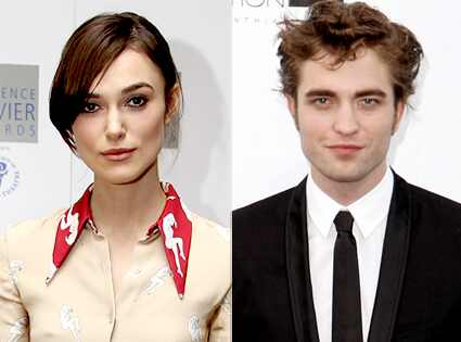 Keira Knightley, Robert Pattinson Chris Jackson/Getty Images; AP Photo/Matt