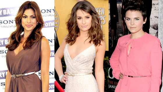 Lea Michele, Eva Mendes, Ginnifer Goodwin
