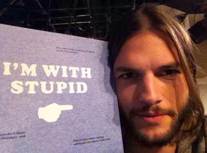 Ashton Kutcher en medio de un escándalo en Twitter, ¿cerrará su cuenta?