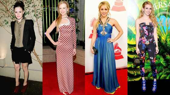 Rachel Bilson, Nicole Kidman, Shakira, Emma Roberts