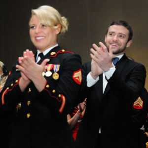 Justin Timberlake Parties at the Marine Corps Ball