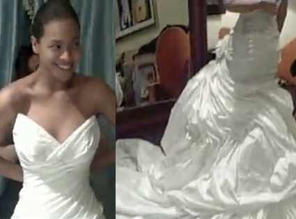 Beyonce, Wedding dress