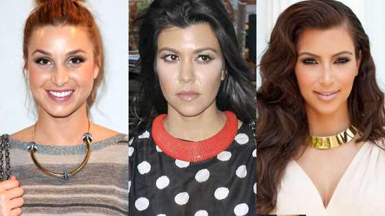 Kourtney Kardashian, Kim Kardashian, Whitney Port