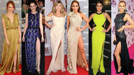 Kristen Stewart, Jennifer Lopez, Nikki Green, Irina Shayk, Grace Potter, Emma Stone