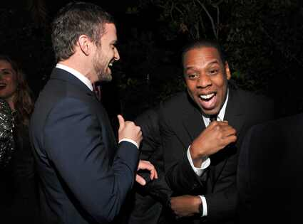 Justin Timberlake, Jay-Z, GQ Party
