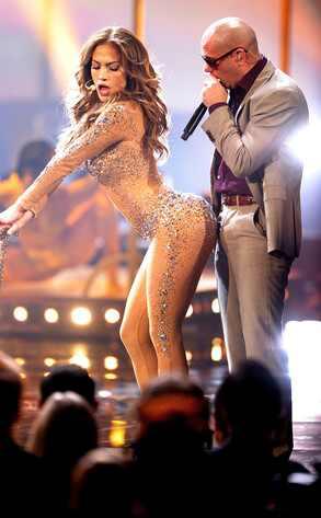 Jennifer Lopez, Pitbull, AMA