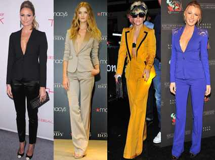 Rosie Huntington-Whiteley, Blake Lively, Lady Gaga, Stacy Keibler