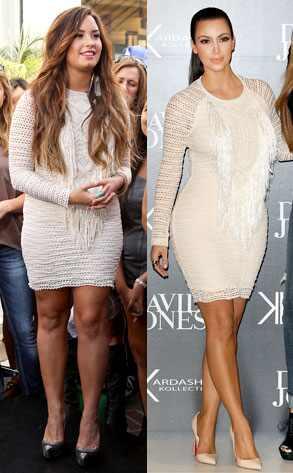 Demi Lovato, Kim Kardashian