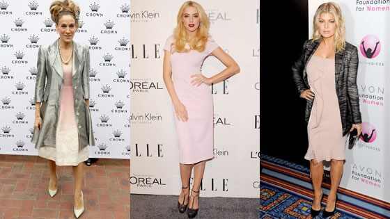 Sarah Jessica Parker, Amber Heard, Fergie