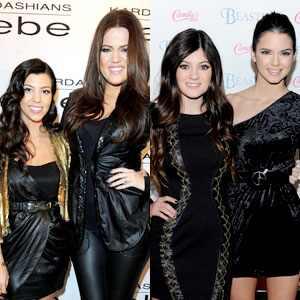 Kourtney Kardashian, Khloe Kardashian, Kendall Jenner, Kylie Jenner