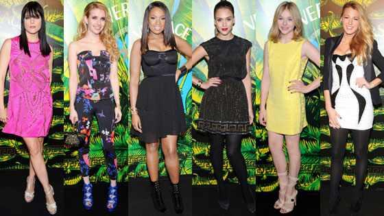 Emma Roberts, Blake Lively, Jennifer Hudson, Selma Blair, Chloe Moretz, Jessica Alba
