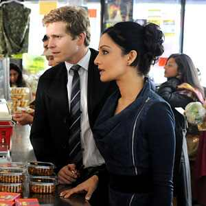 Archie Panjabi, Matt Czuchry, The Good Wife