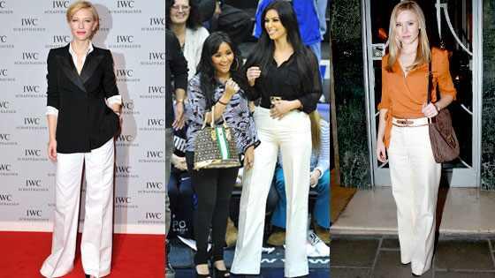 Cate Blanchett, Kim Kardashian, Kristen Bell