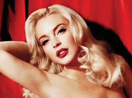 Lindsay Lohan, Playboy