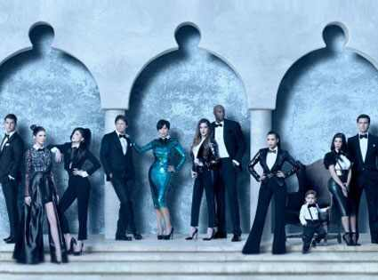 Kardashian Christmas card