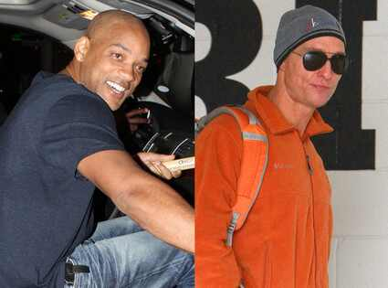 Will Smith or MATTHEW MCCONAUGHEY: Which Star Is Hotter Bald?