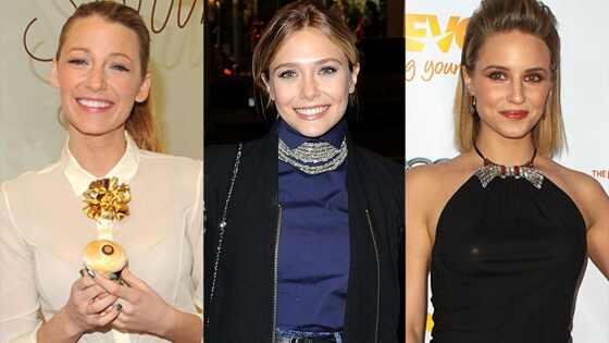 Blake Lively, Dianna Agron, Elizabeth Olsen