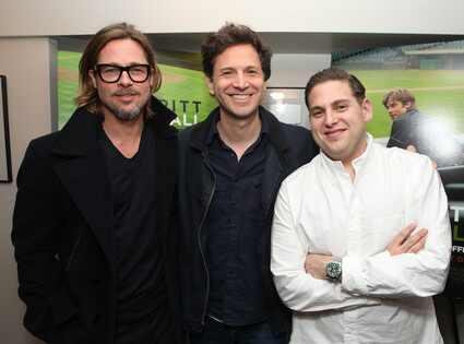Brad Pitt, Bennett Miller, Jonah Hill
