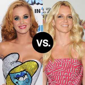 Katy Perry, Britney Spears