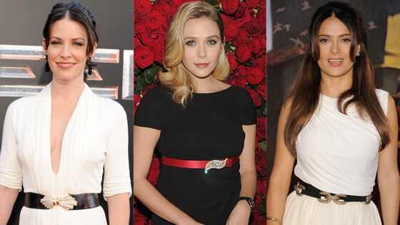 Evangeline Lily, Elizabeth Olsen, Salma Hayek