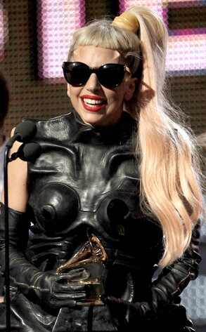 lady gaga 2011 grammys. Lady Gaga AP Photo/Matt Sayles