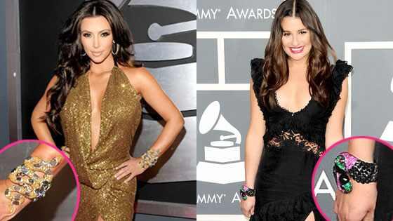 Kim Kardashian, Lea Michele