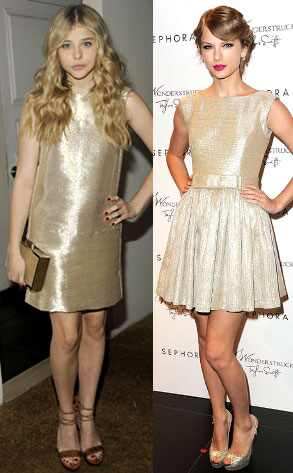 Chloe Moretz, Taylor Swift