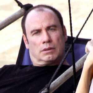 John Travolta bald head