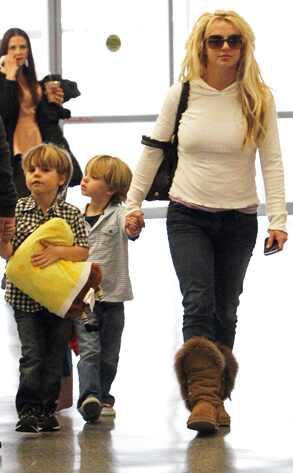 Britney Spears,Sean Preston Federline, Jayden James Federline