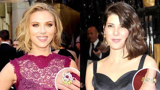 Scarlett Johansson, Marisa Tomei
