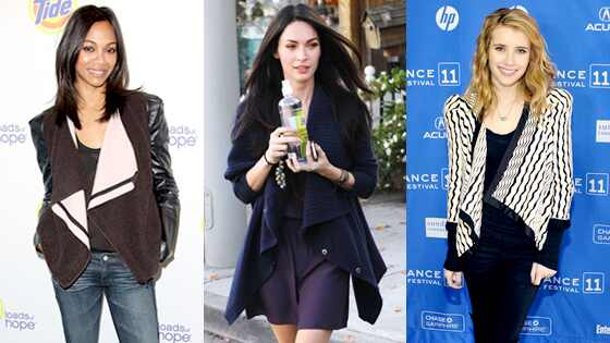 Zoe Saldana, Megan Fox, Emma Roberts