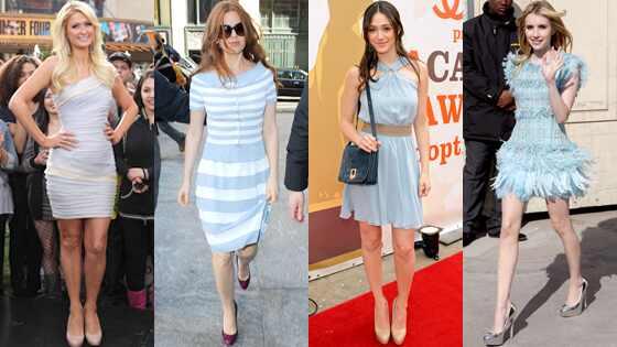 Paris Hilton, Isla Fisher, Emmy Rossum, Emma Roberts