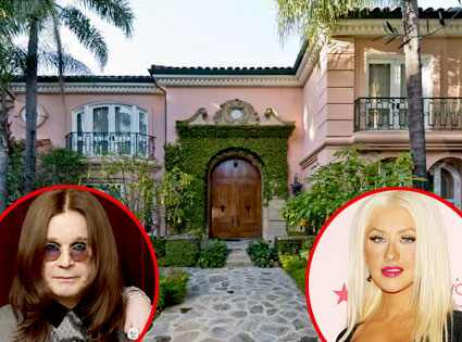 Christina Aguilera, Ozzy Osbourne, Estate