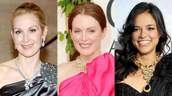 Kelly Rutherford, Julianne Moore, Michelle Rodriguez