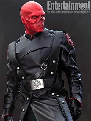 Red Skull, Captain America, EW