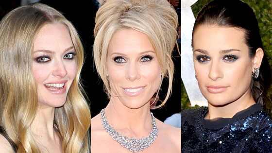 Amanda Seyfried, Cheryl Hines, Lea Michele