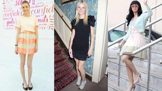 Whitney Port, Gwyneth Paltrow, Katy Perry