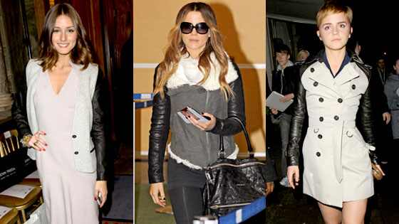 Olivia Palermo, Kate Beckinsale, Emma Watson