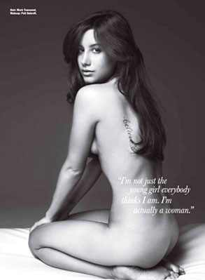 Ashley Tisdale, Allure Magazine