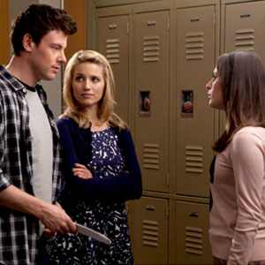 Glee, Cory Monteith, Dianna Agron, Lea Michele