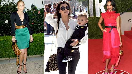Jennifer Lopez, Kourtney Kardashian, Zoe Saldana