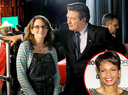 30 Rock, Tina Fey, Alec Baldwin, Condoleeza Rice
