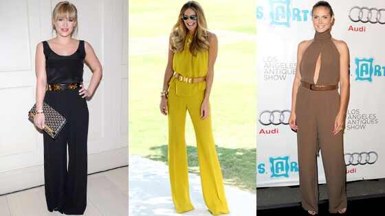 Hilary Duff, Elle Macpherson, Heidi Klum