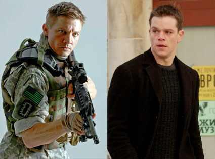 The Hurt Locker, Jeremy Renner, Bourne Supremacy, Matt Damon