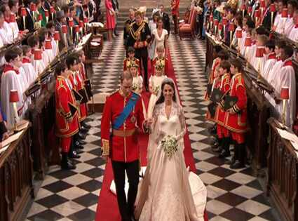 Prince William, Kate Middleton, Wedding Departure