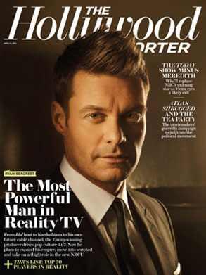 Ryan Seacrest, Hollywood Reporter Cover