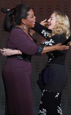 Oprah Winfrey, Madonna