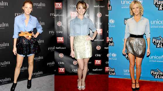 Blake Lively, Jayma Mays, Brooklyn Decker